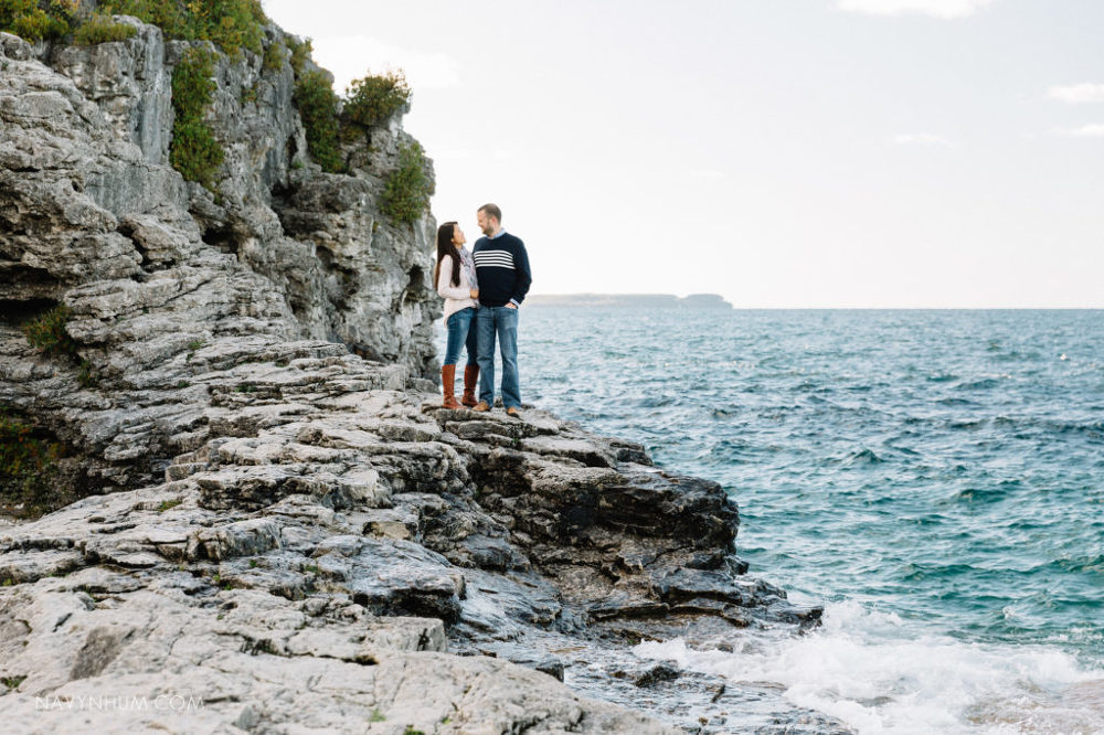 selfie-engagement-session-tobermory-1