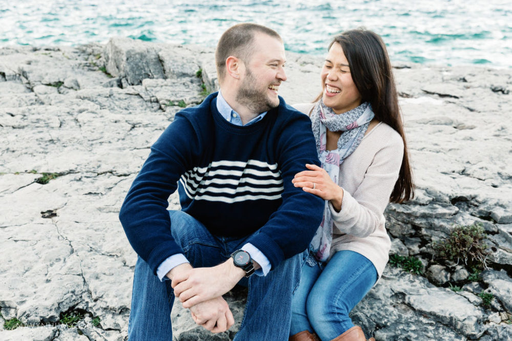 selfie-engagement-session-tobermory-19